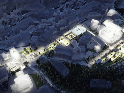 BURSA CEKIRGE SQUARE COMPETITION (3. PRIZE)